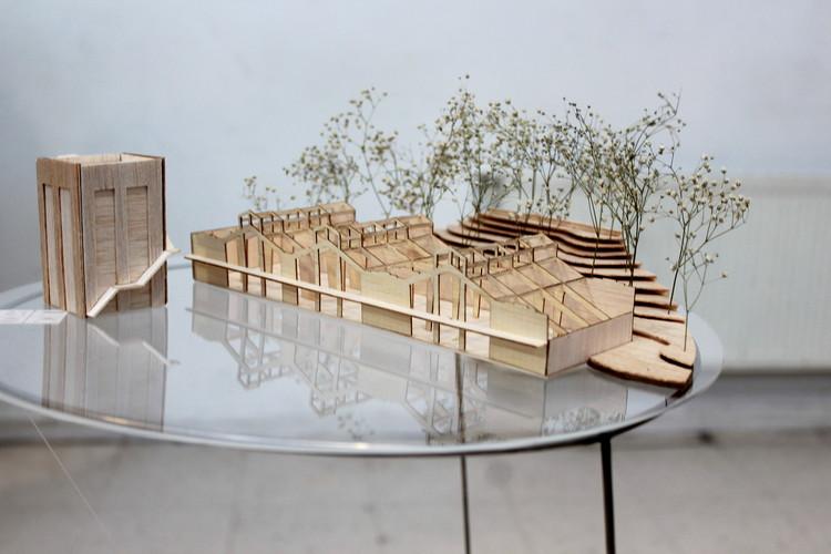 Grupo IX / Maqueta. Image Cortesía de Arquitectura Caliente