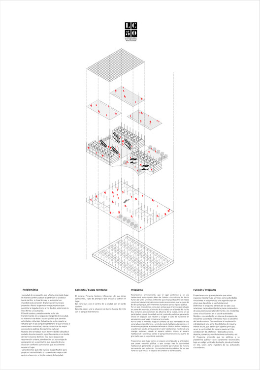 MCR3 / Lámina 02. Image Cortesía de Arquitectura Caliente