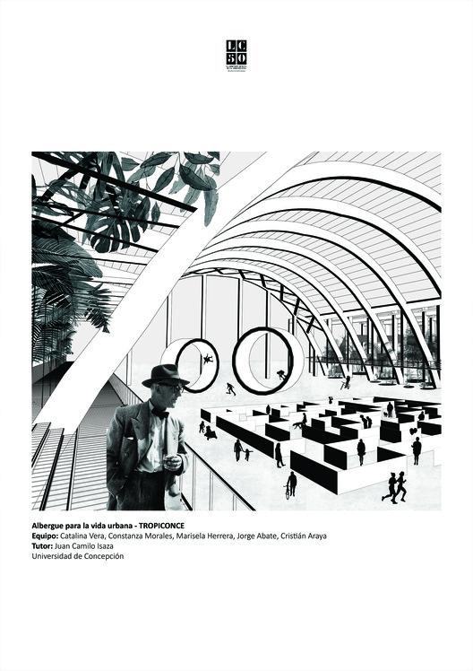 PRURAL / Lámina 01. Image Cortesía de Arquitectura Caliente