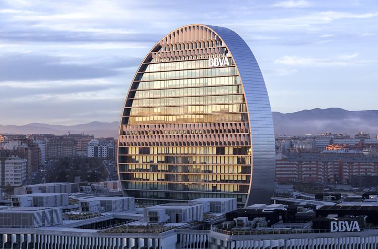 Nueva sede corporativa BBVA / Herzog & de Meuron. Madrid . Image ©  Rubén P. Bescós