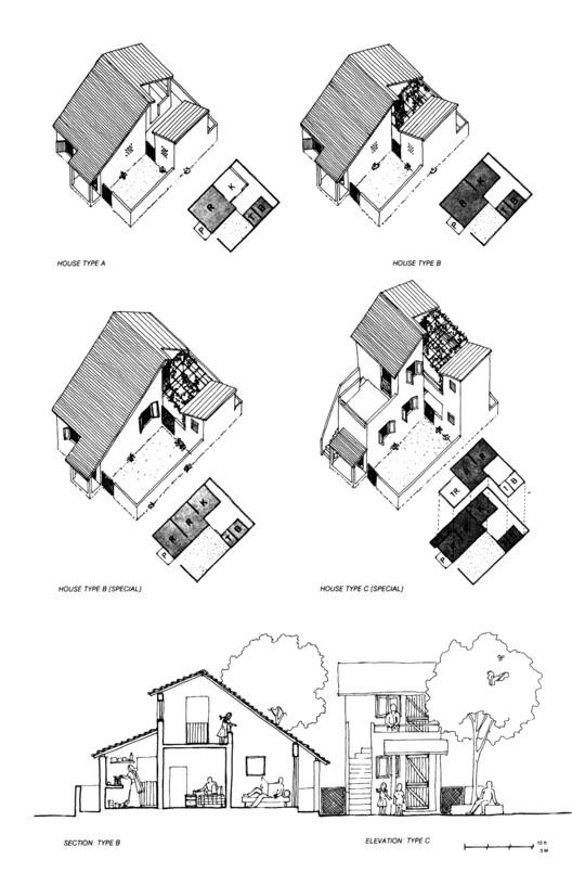 Belapur / Charles Correa Associates. Imagen © Charles Correa Associates