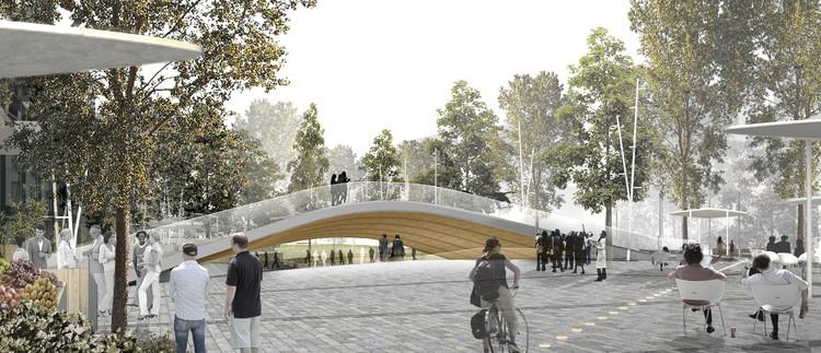 MX_SI architectural studio y mestreswåge arquitectes rediseñarán plaza pública de Oslo, Cortesía de MX_SI + MestresWåge