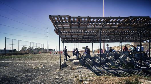 Centros comunitarios La Esperanza y Vistas de San Pablo / Taller Activo, G3 Arquitectos, Estudiantes del Tec de Monterrey, campus Querétaro. Image Cortesía de INBA