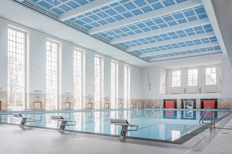 Swimming hall finckensteinallee veauthier meyer for Meyer architecture