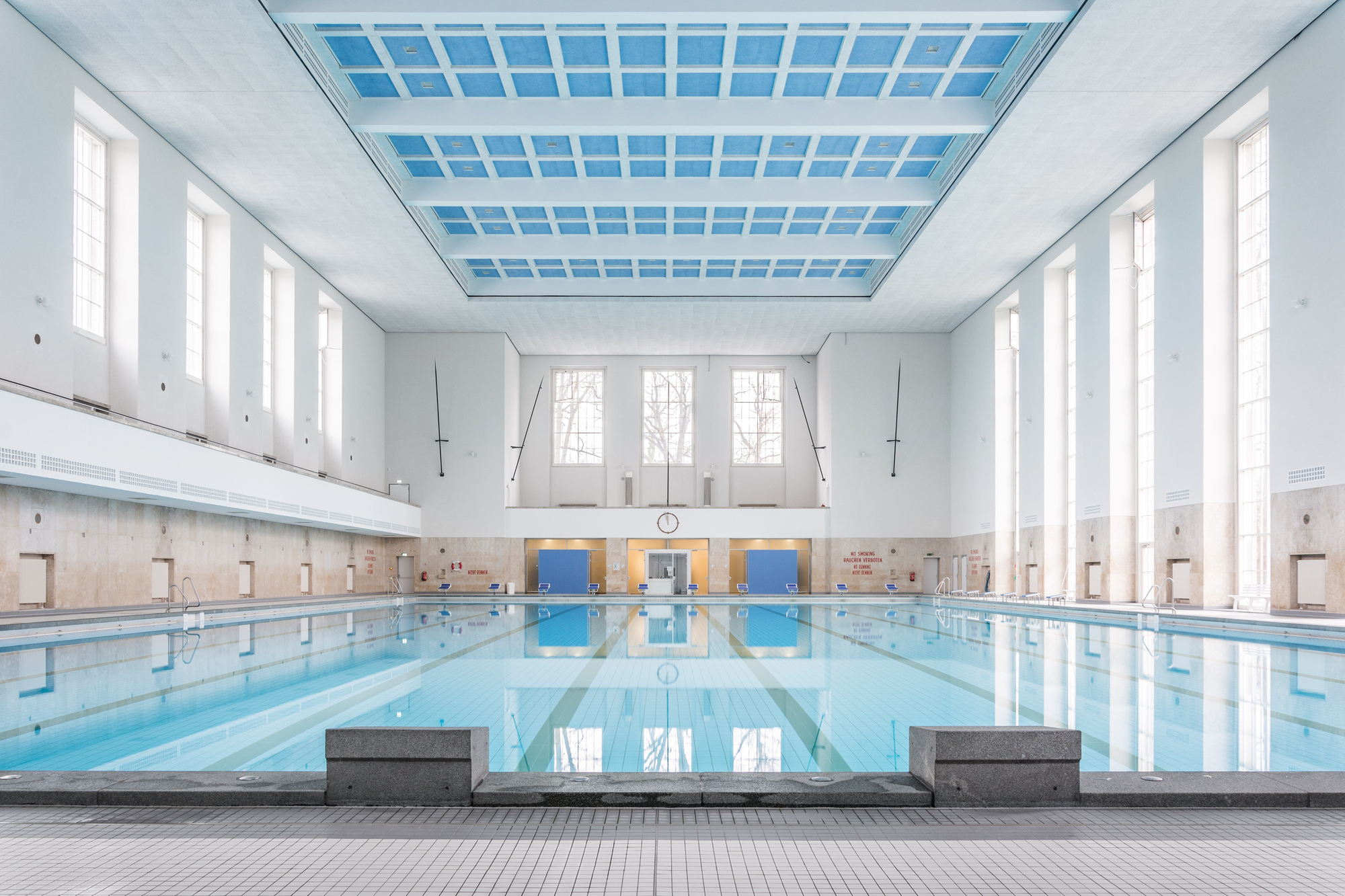 Gallery of swimming hall finckensteinallee veauthier Meyer architecture