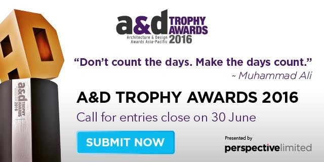 Call for Submissions: Architectural & Design (A&D) Trophy Awards 2016, Perspective's A&D Trophy Awards 2016 is currently open for entries.