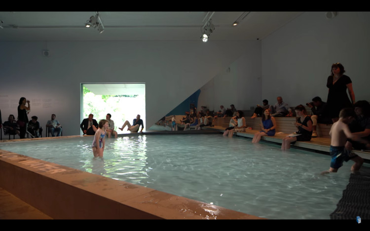 Video: Take a Dip in the Australian Pavilion at the 2016 Venice Biennale, © Jesús Granada