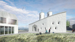 Quadratura Circuli Aim to Revive Russian Religious Architecture with Cultural Center in Reykjavik