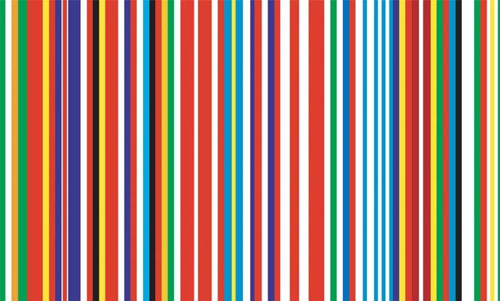 """There is Much More at Stake Than Simply Being In or Out"" – Rem Koolhaas Speaks Out Over a Potential EU 'Brexit', EU Barcode (OMA*AMO). Image © flickr user eager. Licensed under CC BY 2.0."