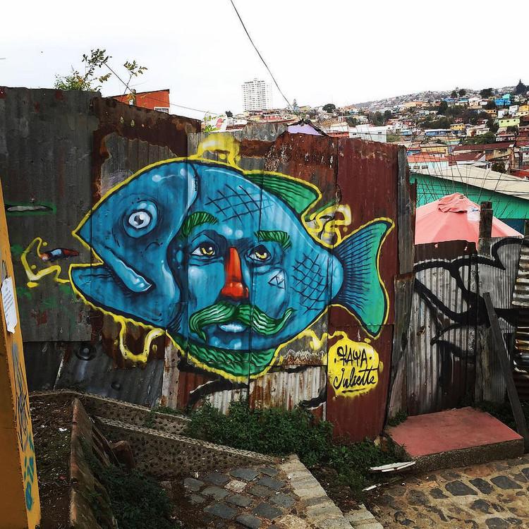 Cerro Polanco, Valparaíso. Image Cortesía de Faya E.C.