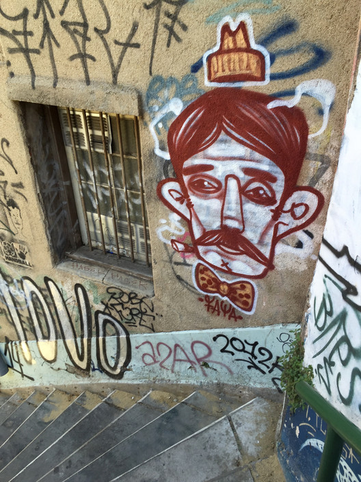Mural en Valparaíso. Image Cortesía de Faya E.C.