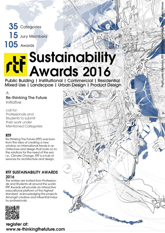 RTF Sustainability Awards 2016, RTF Sustainability Awards 2016 Poster