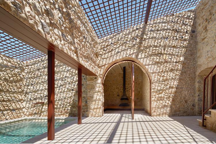 Reforma d'una masia (Baix Empordà) . Image vía Premis d'Arquitectura de les Comarques de Girona