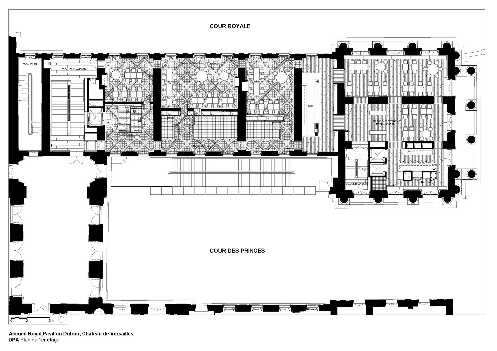 Gallery of refurbishment of the pavilion dufour ch teau de for Plan architecte