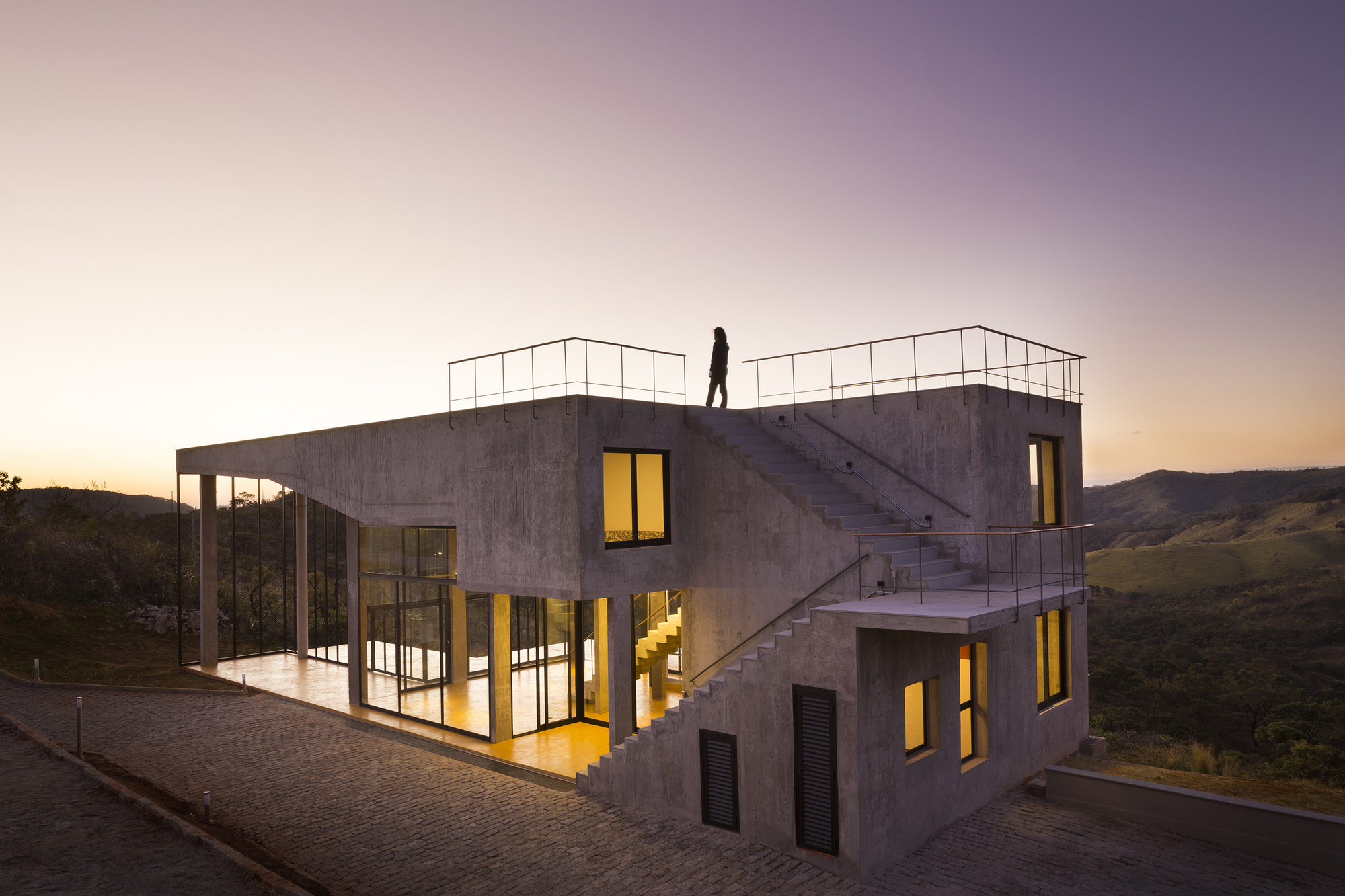 Cerrado House Vazio S A Archdaily