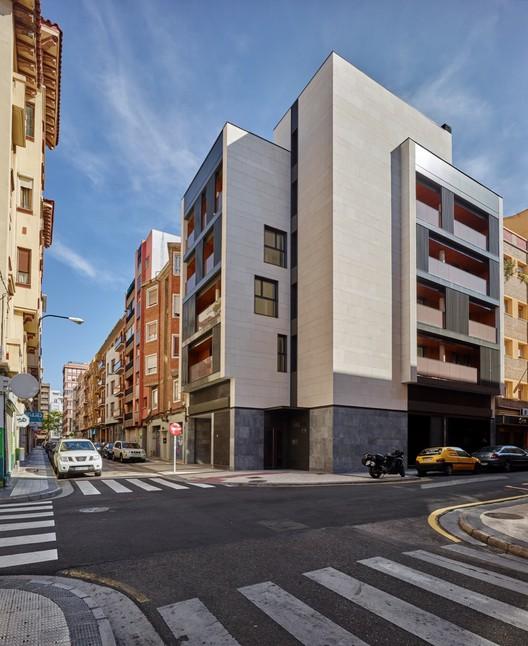 Edificio cervantes saiz rendueles arquitectos - Arquitectos en zaragoza ...