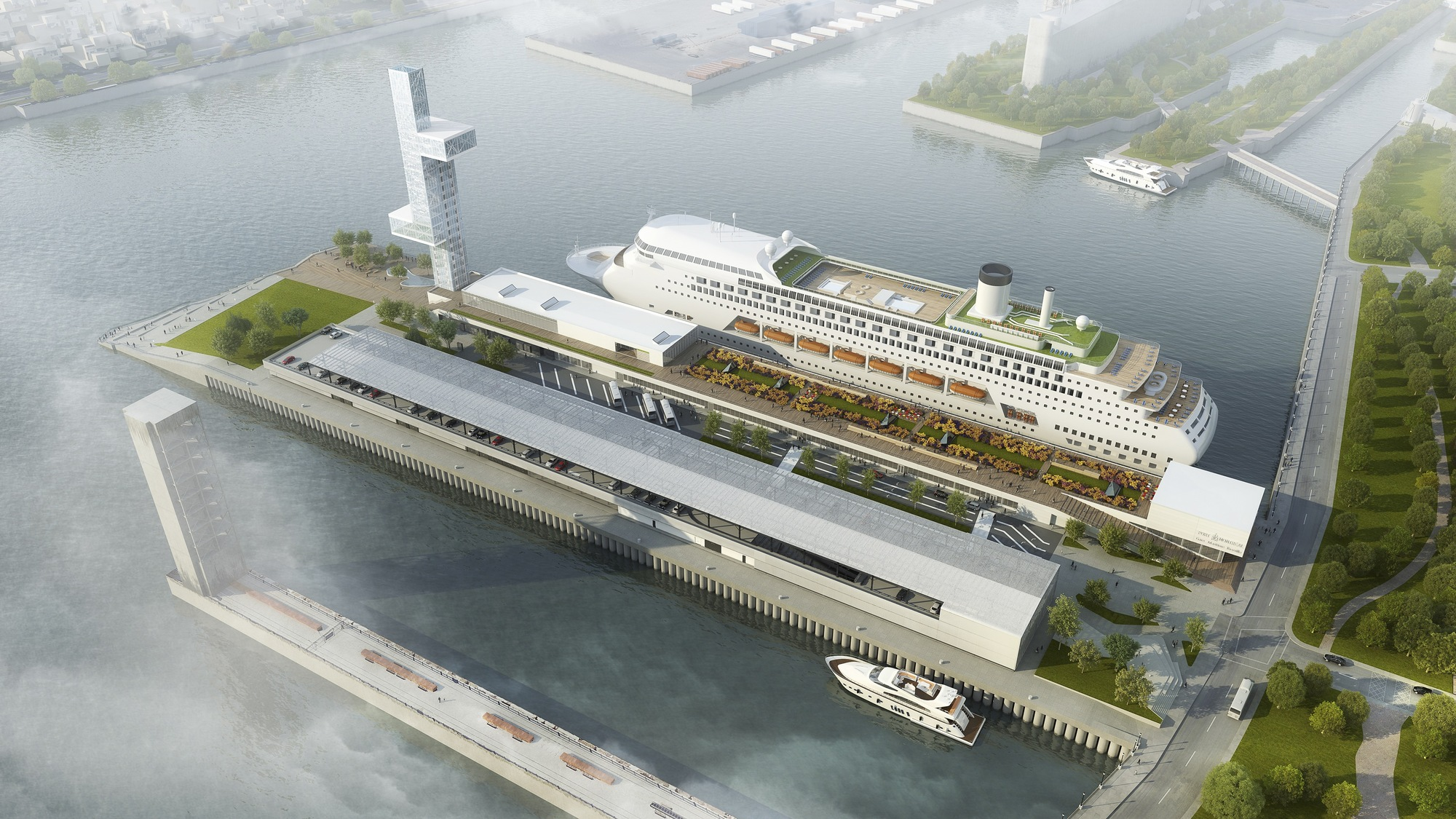 Gallery Of Provencher Roy Unveil Plans For Montreal Port