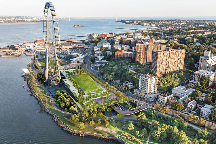 Projects in Planning: New York Wheel, Image © Perkins Eastman, S9 Architecture