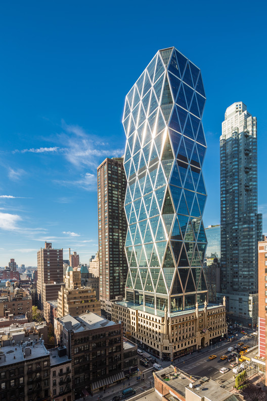 Hearst Tower / Foster + Partners. Image © Hearst Corporation