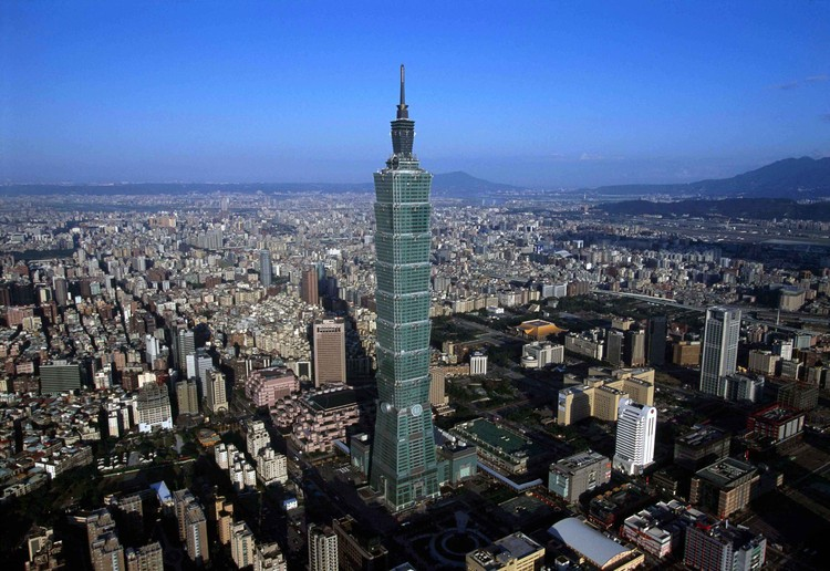 Taipei 101 / Y.E. Lee. Image © TaipeiFinancial