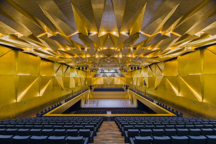 Architecture Is The Music of Space Five Exceptional Concert Halls in Europe, Foto: Jakub Certowicz, press materials of the exhibition 'Architecture is the Music of Space'