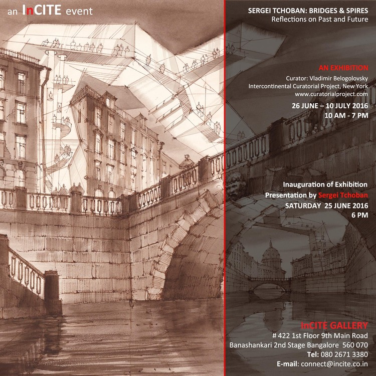 Sergei Tchoban: Bridges & Spires - Drawing Reflections on Past and Future, Sergei Tchoban: Bridges & Spires