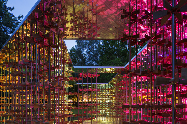 "ArchTriumph Present the ""Energy Pavilion"" Now Open at Museum Gardens, Courtesy of Sergio Grazia and Luc Boegly"