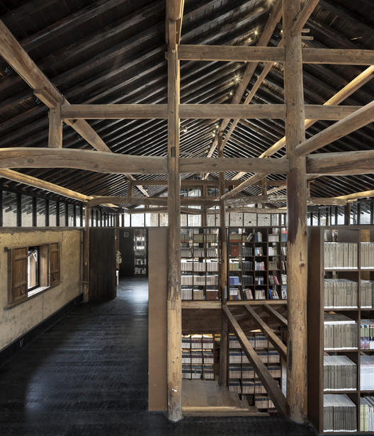 Librairie Avant-Garde - Ruralation Library  / AZL Architects, © YAO Li