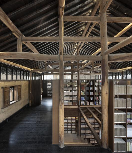 Librairie Avant-Garde - Biblioteca Ruralation  / AZL Architects, © YAO Li