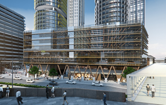 Tzannes Releases Designs for Australia?s Largest Commercial Timber Building
