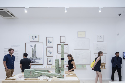 The Architectural Imagination / curated by Cynthia Davidson and Monica Ponce de Leon. The US Pavilion at the 2016 Venice Biennale. Image © Laurian Ghinitoiu