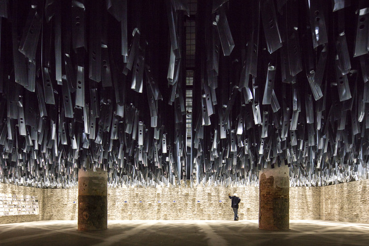 "Critical Round-Up: Did Aravena's 2016 Venice Biennale Achieve its Lofty Goals?, The ""Reporting the Front"" exhibition/ curated by Alejandro Aravena at the 2016 Venice Biennale. Image © Laurian Ghinitoiu"