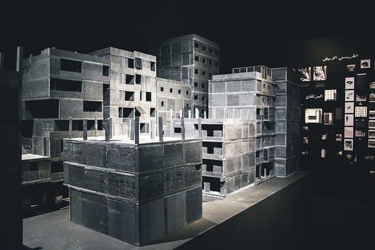 The MAS urban design of ETH Zurich contribution to the Egyptian pavilion. Image © Michela di Savino, Morgane Quere