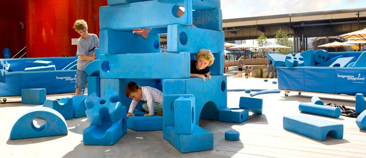 UNITE: The Problem With Play, Image: Imagination Playground, New York, the Rockwell Group. Photo credit: Chris Amaral.