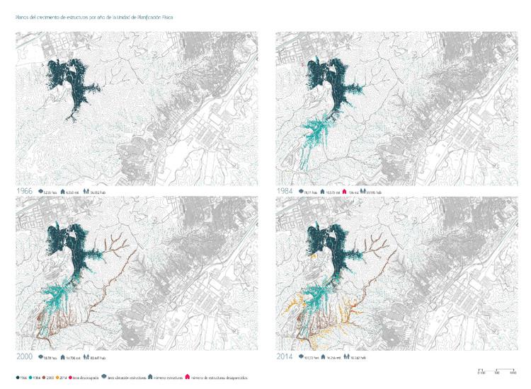 Mapa de la UPF 10 La Vega. Image © Enlace Arquitectura