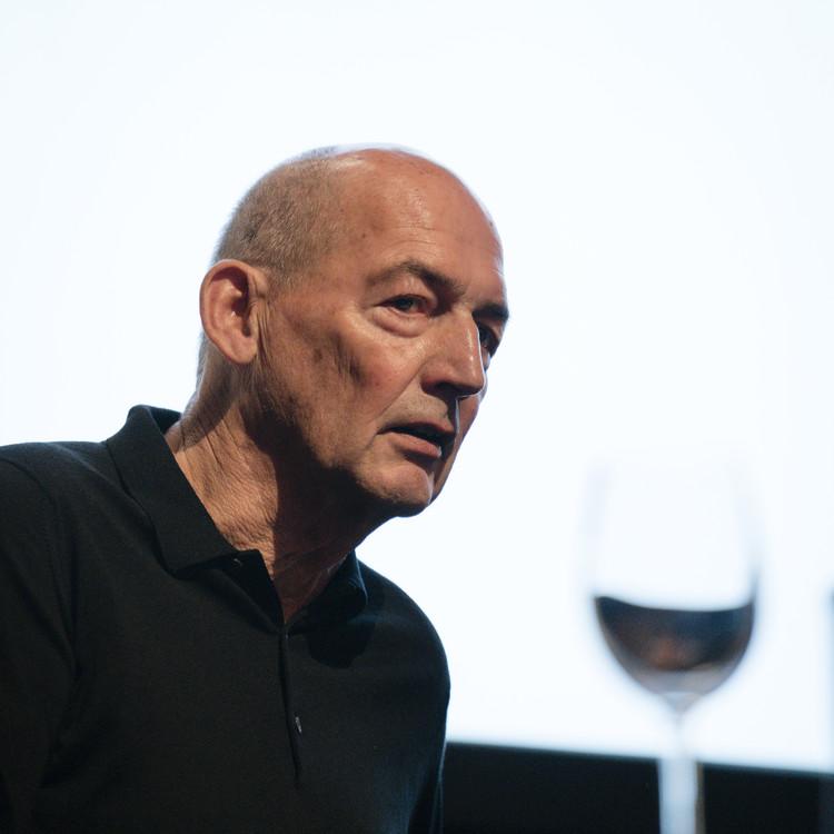 Rem Koolhaas en #CambioDeClima. Image © Miguel de Guzmán