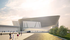 Twelve Architects' Reveals Their Design for International Exhibition Center in Russia