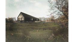 Studio Bark's 'Black Barn' is an Environmentally Conscious Home in English Countryside