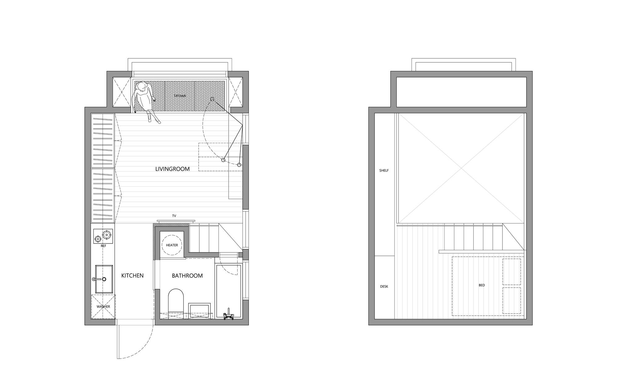 Galeria De Apartamento De 22m2 Em Taiwan A Little Design