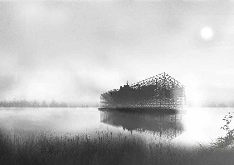 Estos son los ganadores del Concurso Nacional de Proyectos de Título 2016, Museo de la Construcción Naval / Emanuel Astete Berríos. Image Cortesía de Arquitectura Caliente