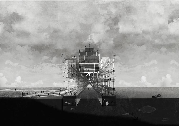 Museo de la Construcción Naval / Emanuel Astete Berríos. Image Cortesía de Arquitectura Caliente