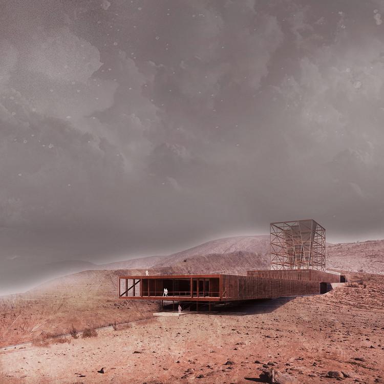 Observatorio Ecológico Morro Moreno / Ken Qiu Sun. Image Cortesía de Arquitectura Caliente