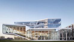 Casa de estudiantes de la ETS / Menkès Shooner Letourneaux Architectes