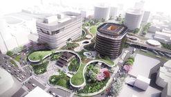 Mecanoo revela planes para estación 'verde' de trenes en Taiwán