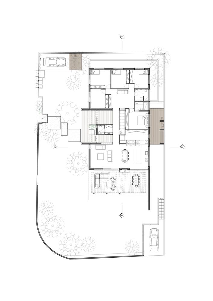 LAHO House,Floor Plan