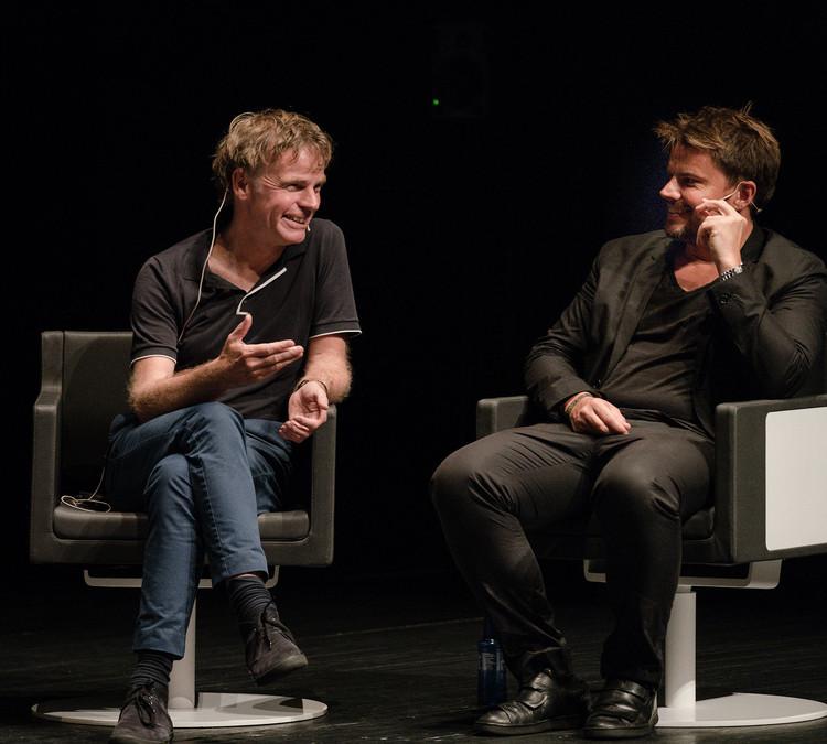 Winy Maas y Bjarke Ingels. Image © Imagen Subliminal