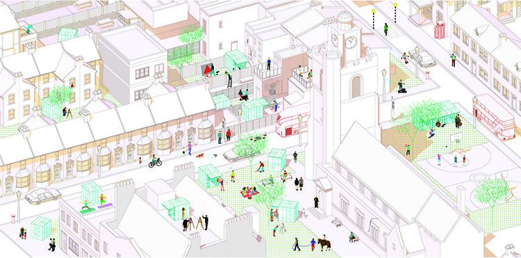 Plan General. Image Courtesy of Tomaso Boano & Jonas Prišmontas