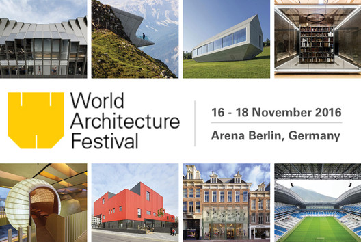 Shortlist Revealed for World Architecture Festival Awards 2016