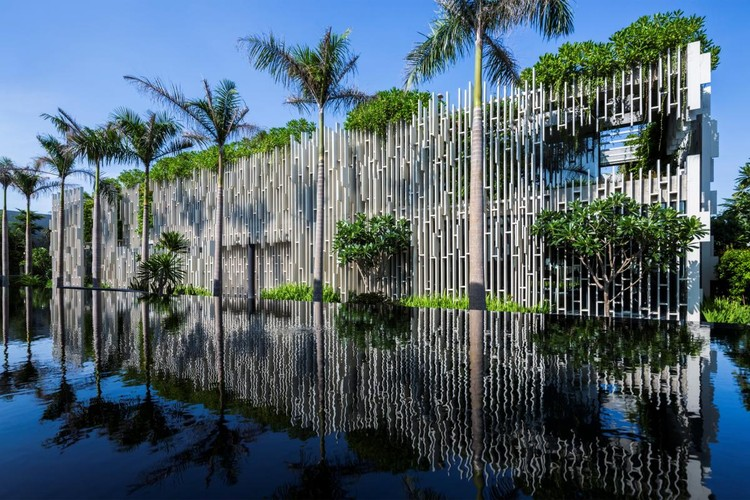 HOTEL AND LEISURE: MIA Design Studio, Naman Retreat Pure Spa, Danang, Vietnam. Image via World Architecture Festival