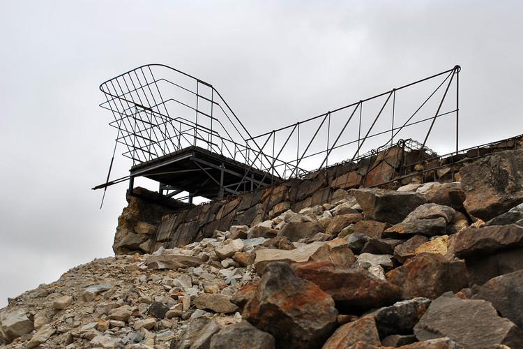 Parador del Chivato: la ruina como apoyo estructural y narrativo, Cortesía de Guillermo Rojas Aravena